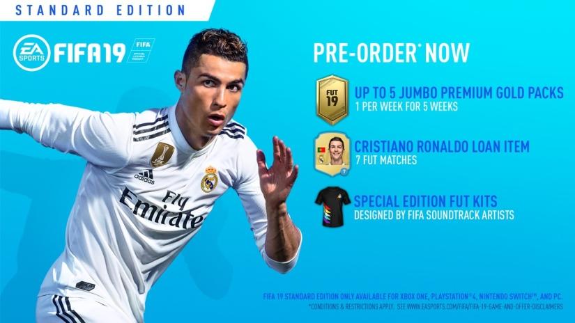 FIFA 19 PRE ORDER STANDARD EDITION QUICKSTOPHICKS YOUTUBE