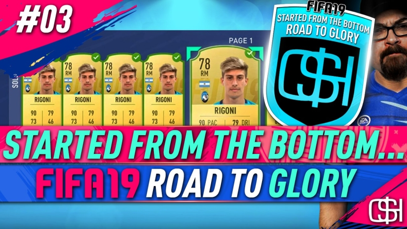 FIFA 19 ROAD TO GLORY FIFA 19 ULTIMATE TEAM QUICKSTOPHICKS FIFA 19 RTG EPISODE 3 WEEKLY OBJECTIVES