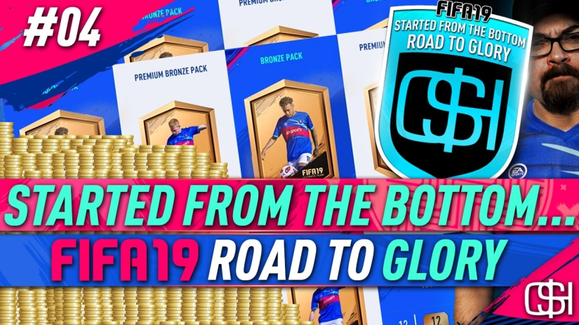 FIFA 19 ROAD TO GLORY FIFA 19 ULTIMATE TEAM QUICKSTOPHICKS FIFA 19 RTG EPISODE 4 HOW TO BRONZE PACK METHOD FIFA 19 BPM FIFA 19 BRONZE PACK METHOD