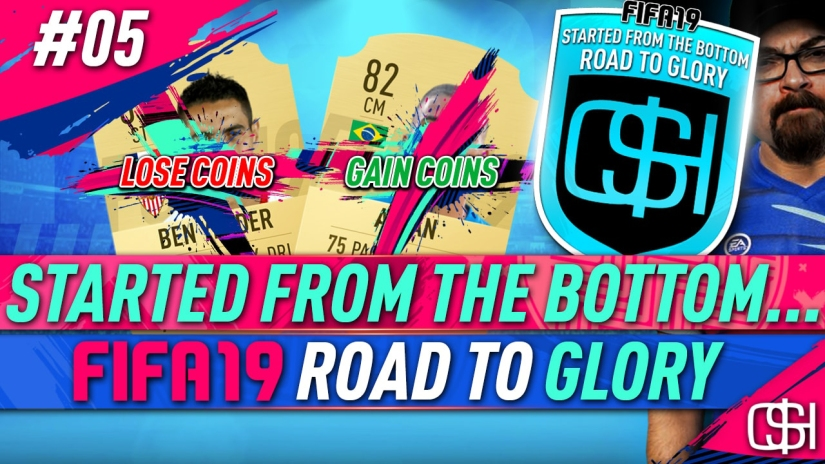 FIFA 19 ROAD TO GLORY FIFA 19 ULTIMATE TEAM QUICKSTOPHICKS FIFA 19 RTG EPISODE 5 HOW TO BRONZE PACK METHOD FIFA 19 BPM FIFA 19 BRONZE PACK METHOD