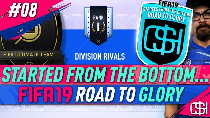 FIFA 19 ROAD TO GLORY FIFA 19 ULTIMATE TEAM QUICKSTOPHICKS FIFA 19 RTG EPISODE 8 RANK 1 DIVISION RIVALS REWARDS RANK 1