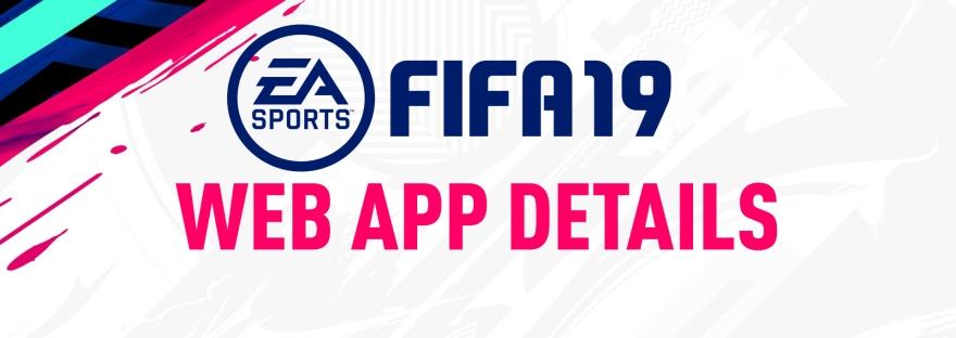 fifa 19 web app release date