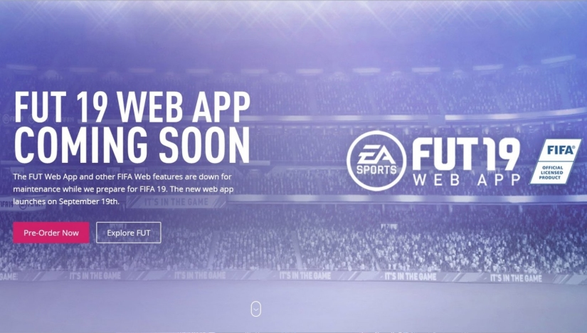 FIFA 19 Web App Details and Launch – QUICKSTOPHICKS