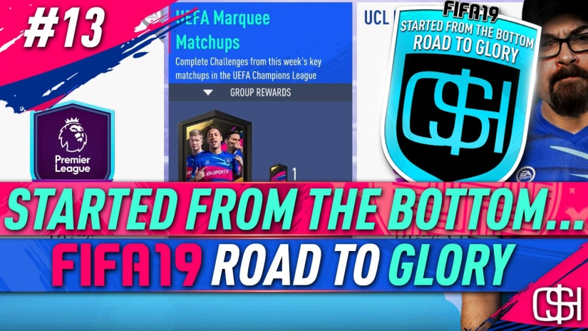 FIFA 19 ROAD TO GLORY FIFA 19 ULTIMATE TEAM QUICKSTOPHICKS FIFA 19 RTG EPISODE 13 UEFA MARQUEE MATCHUPS CHEAP