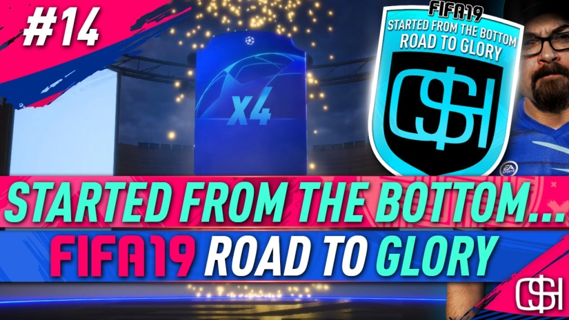 FIFA 19 ROAD TO GLORY FIFA 19 ULTIMATE TEAM QUICKSTOPHICKS FIFA 19 RTG EPISODE 14 4 x UCL UPGRADE PACKS I 2 CHAMPIONS LEAGUE PLAYERS PACKS