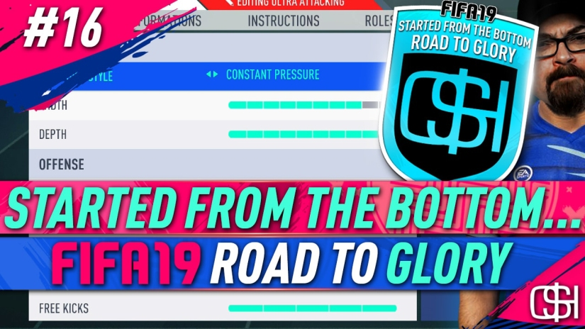 FIFA 19 ROAD TO GLORY FIFA 19 ULTIMATE TEAM QUICKSTOPHICKS FIFA 19 RTG EPISODE 16 CUSTOM TACTICS EXPLAINED