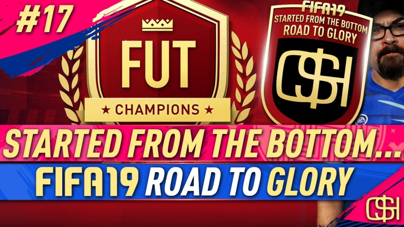FIFA 19 ROAD TO GLORY FIFA 19 ULTIMATE TEAM QUICKSTOPHICKS FIFA 19 RTG EPISODE 17 FUT CHAMPIONS