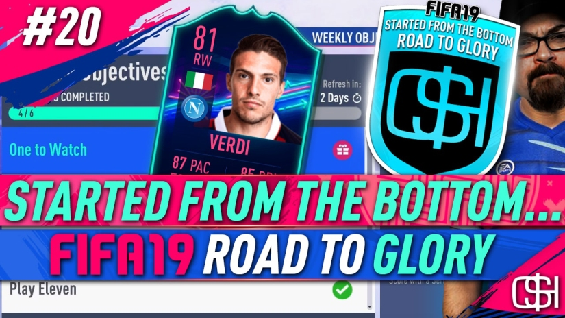 FIFA 19 ROAD TO GLORY FIFA 19 ULTIMATE TEAM QUICKSTOPHICKS FIFA 19 RTG EPISODE 20 ONES TO WATCH VERDI