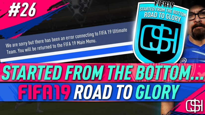 FIFA 19 ROAD TO GLORY FIFA 19 ULTIMATE TEAM QUICKSTOPHICKS FIFA 19 RTG EPISODE 26 NEW FUT SWAP PLAYERS AND FIFA DISCONNECTS
