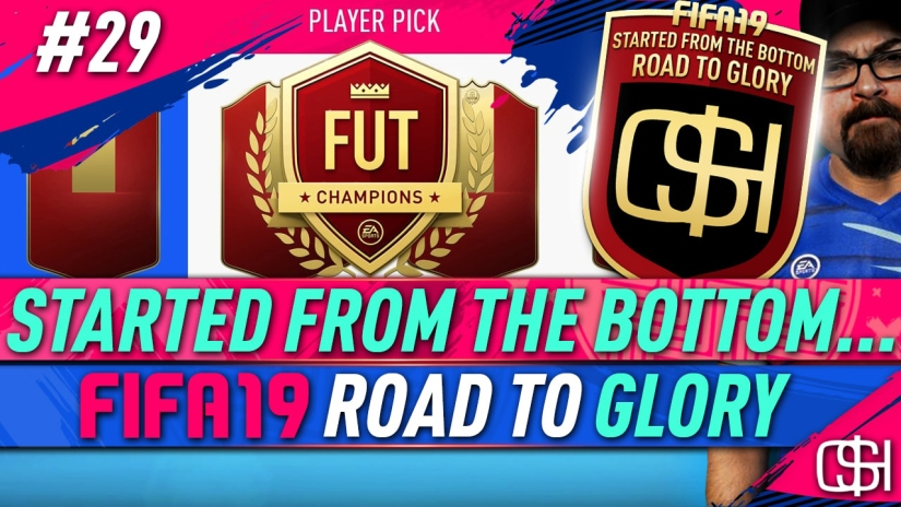 FIFA 19 ROAD TO GLORY FIFA 19 ULTIMATE TEAM QUICKSTOPHICKS FIFA 19 RTG EPISODE 29 FUT CHAMPIONS PLAYER PICK REWARDS RED INFORMS
