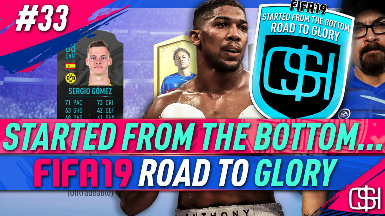 Fifa 19 Squad Battles Rewards fifa 19 road to glory episode 33 started from the bottom rtg