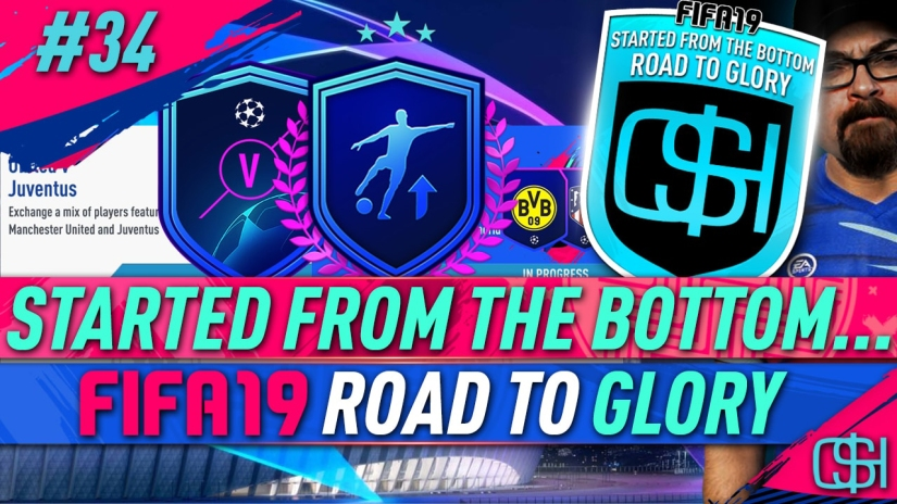 FIFA 19 ROAD TO GLORY FIFA 19 ULTIMATE TEAM QUICKSTOPHICKS FIFA 19 RTG EPISODE 34 UCL UPGRADE PACKS UEFA MARQUEE MATCHUPS