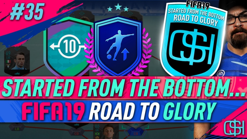 FIFA 19 ROAD TO GLORY FIFA 19 ULTIMATE TEAM QUICKSTOPHICKS FIFA 19 RTG EPISODE 35 UCL UPGRADE PACKS FUT SWAP PLAYER OBJECTIVES