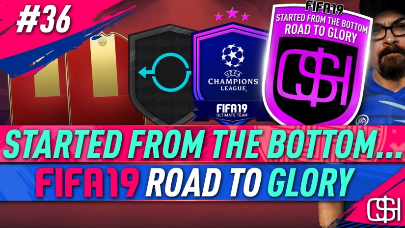 FIFA 19 ROAD TO GLORY FIFA 19 ULTIMATE TEAM QUICKSTOPHICKS FIFA 19 RTG EPISODE 36 UCL UPGRADE PACKS FUT SWAP PLAYER OBJECTIVES