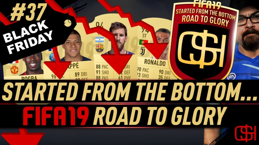 FIFA 19 ROAD TO GLORY FIFA 19 ULTIMATE TEAM QUICKSTOPHICKS FIFA 19 RTG EPISODE 37 BLACK FRIDAY MARKET CRASH FIFA 19 BLACK FRIDAY EVENT