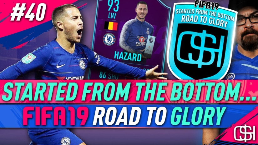 FIFA 19 ROAD TO GLORY FIFA 19 ULTIMATE TEAM QUICKSTOPHICKS FIFA 19 RTG EPISODE 40 EDEN HAZARD POTM PLAYER OF THE MONTH