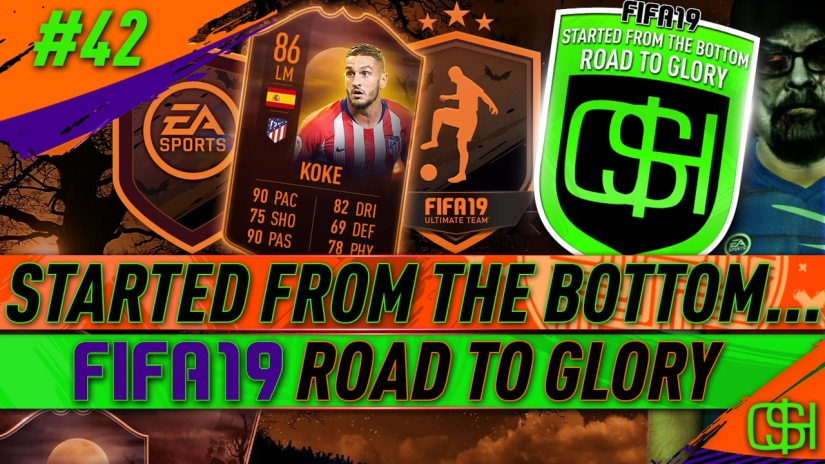 FIFA 19 ROAD TO GLORY FIFA 19 ULTIMATE TEAM QUICKSTOPHICKS FIFA 19 RTG EPISODE 42 FREE ULTIMATE SCREAM PLAYER OBJECTIVE DAY OF THE DEAD SBC