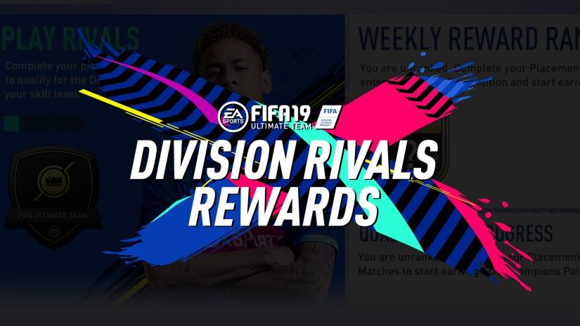 FIFA 19 DIVISION RIVALS REWARDS AND RANKS