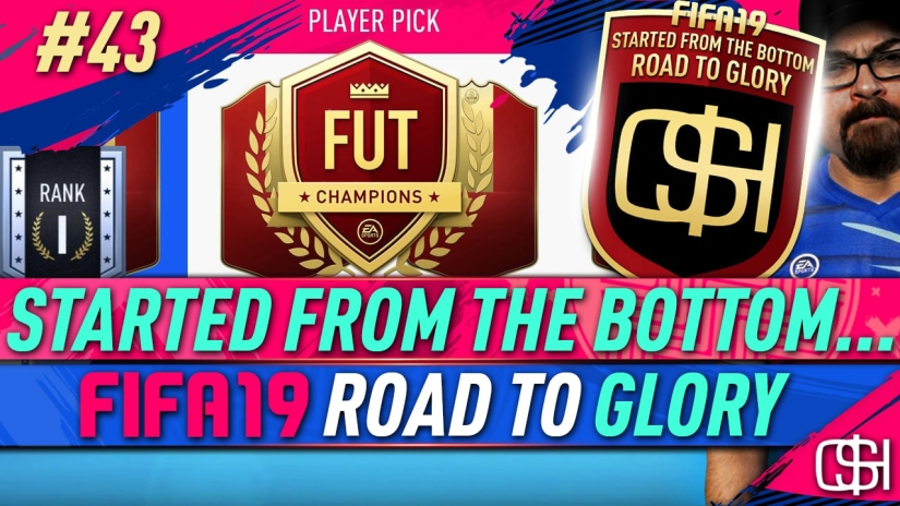 FIFA 19 ROAD TO GLORY FIFA 19 ULTIMATE TEAM QUICKSTOPHICKS FIFA 19 RTG EPISODE 43 FUT CHAMPIONS PLAYER PICK REWARDS RED INFORMS RANK 1 REWARDS