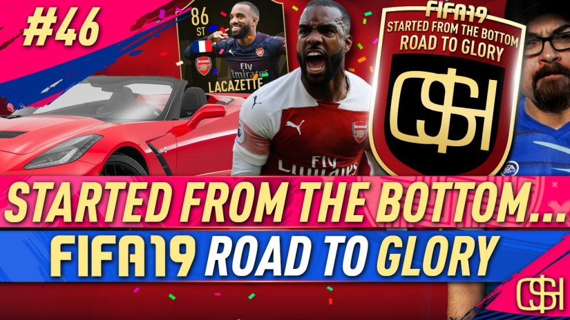 FIFA 19 ROAD TO GLORY FIFA 19 ULTIMATE TEAM QUICKSTOPHICKS FIFA 19 RTG EPISODE 46 86 lacazette inform