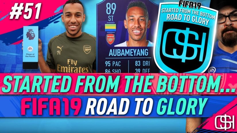 FIFA 19 ROAD TO GLORY FIFA 19 ULTIMATE TEAM QUICKSTOPHICKS FIFA 19 RTG EPISODE 51 PLAYER OF THE MONTH AUBAMEYANG POTM OCTOBER FIFA 19