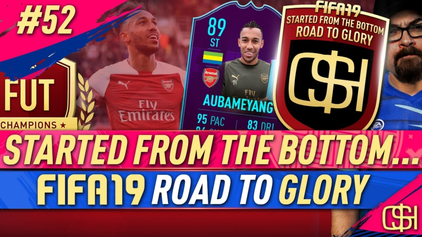FIFA 19 ROAD TO GLORY FIFA 19 ULTIMATE TEAM QUICKSTOPHICKS FIFA 19 RTG EPISODE 52 PLAYER OF THE MONTH AUBAMEYANG POTM OCTOBER FIFA 19