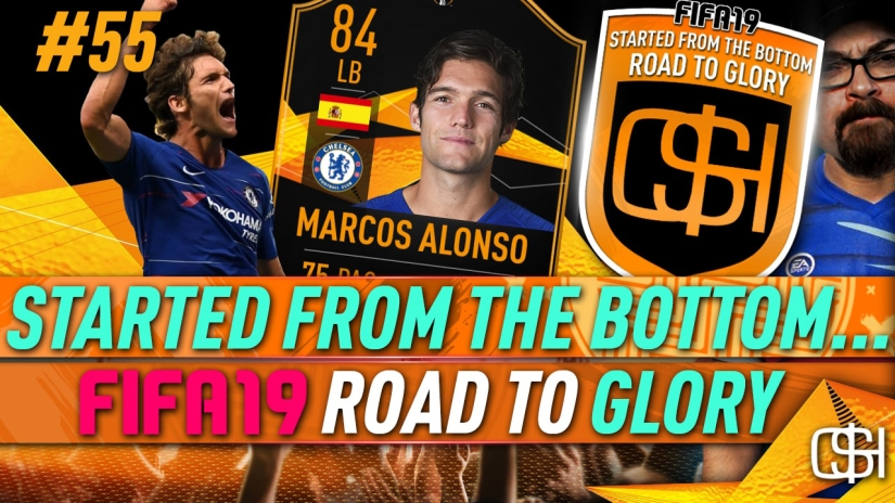 FIFA 19 ROAD TO GLORY FIFA 19 ULTIMATE TEAM QUICKSTOPHICKS FIFA 19 RTG EPISODE 55 MARCUS ALONSO UEFA EUROPA LEAGUE LIVE CARD SBC COMPLETED
