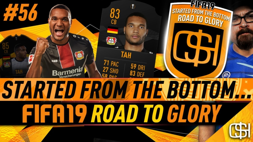 FIFA 19 ROAD TO GLORY FIFA 19 ULTIMATE TEAM QUICKSTOPHICKS FIFA 19 RTG EPISODE 56 JONATHAN TAH UEFA EUROPA LEAGUE LIVE CARD SBC COMPLETED