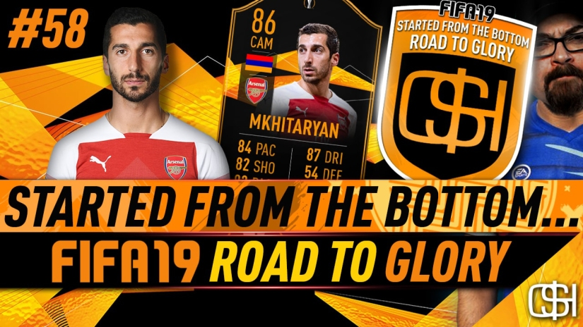 FIFA 19 ROAD TO GLORY FIFA 19 ULTIMATE TEAM QUICKSTOPHICKS FIFA 19 RTG EPISODE 58 HENRIKH MKHITARYAN UEFA EUROPA LEAGUE LIVE CARD SBC COMPLETED