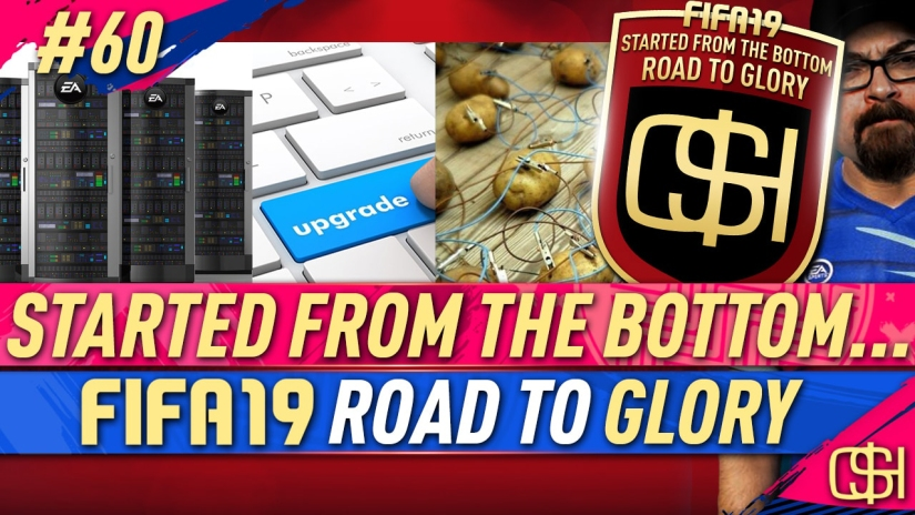 FIFA 19 ROAD TO GLORY FIFA 19 ULTIMATE TEAM QUICKSTOPHICKS FIFA 19 RTG EPISODE 60 EA SERVERS DOWN AGAIN BUTTON DELAY LAG