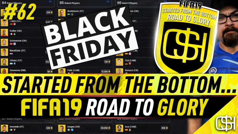 FIFA 19 ROAD TO GLORY FIFA 19 ULTIMATE TEAM QUICKSTOPHICKS FIFA 19 RTG EPISODE 62 WHAT TO BUY DURING BLACK FRIDAY FIFA 19