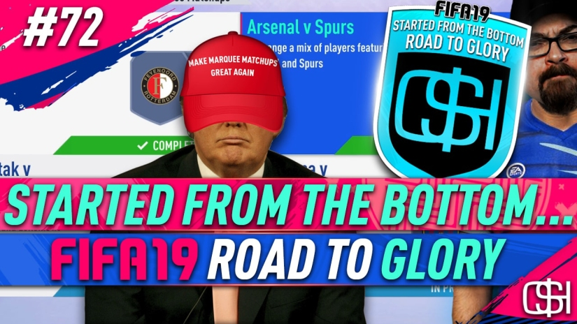 FIFA 19 ROAD TO GLORY FIFA 19 ULTIMATE TEAM QUICKSTOPHICKS FIFA 19 RTG EPISODE 72 MARQUEE MATCHUPS UCL SBC