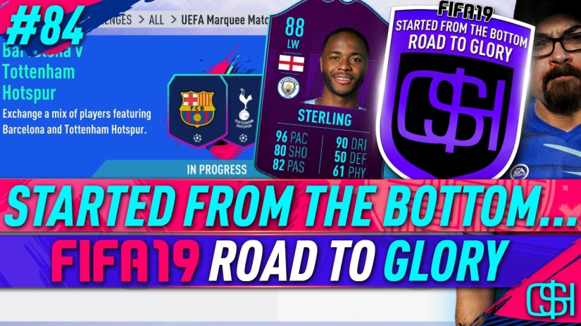 FIFA 19 ROAD TO GLORY FIFA 19 ULTIMATE TEAM QUICKSTOPHICKS FIFA 19 RTG EPISODE 84 FIFA REDDIT STERLING POTM SBC