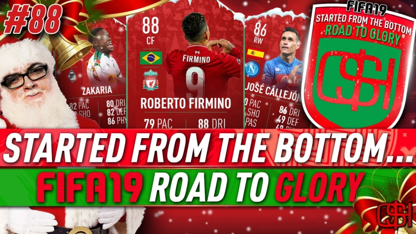 FIFA 19 ROAD TO GLORY FIFA 19 ULTIMATE TEAM QUICKSTOPHICKS FIFA 19 RTG EPISODE 88 FIFA REDDIT DAY 9 FUTMAS SBCS 88 FIRMINO FUTMAS