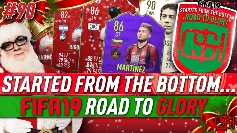 FIFA 19 ROAD TO GLORY FIFA 19 ULTIMATE TEAM QUICKSTOPHICKS FIFA 19 RTG EPISODE 90 FIFA REDDIT DAY 8 FUTMAS SBCS 86 SON FUTMAS MARTINEZ WEEKLY OBJECTIVE