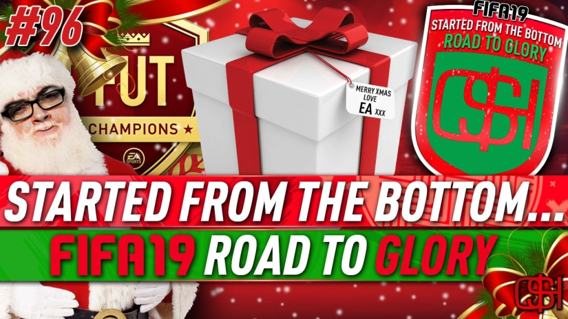 FIFA 19 ROAD TO GLORY FIFA 19 ULTIMATE TEAM QUICKSTOPHICKS FIFA 19 RTG EPISODE 96 FIFA REDDIT DAY 1 FUTMAS SBCS MERRY CHRISTMAS
