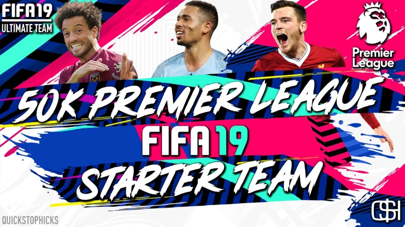 FIFA 19 ROAD TO GLORY FIFA 19 ULTIMATE TEAM QUICKSTOPHICKS FIFA 19 RTG PREMIER LEAGUE DQUAD BUILDER CHEAP STARTER TEAM FIFA 19 CHRISTMAS