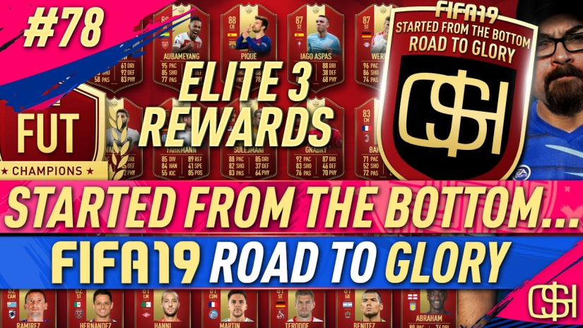FIFA 19 ROAD TO GLORY FIFA 19 ULTIMATE TEAM QUICKSTOPHICKS FIFA 19 RTG EPISODE 78 FIFA REDDIT ELITE 3 REWARDS FUT CHAMPIONS