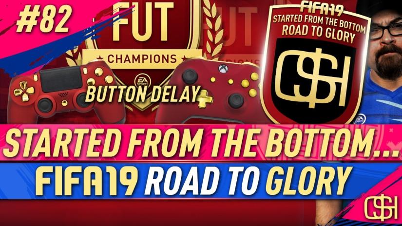 FIFA 19 ROAD TO GLORY FIFA 19 ULTIMATE TEAM QUICKSTOPHICKS FIFA 19 RTG EPISODE 82 FIFA REDDIT BUTTON DELAY FUT CHAMPIONS