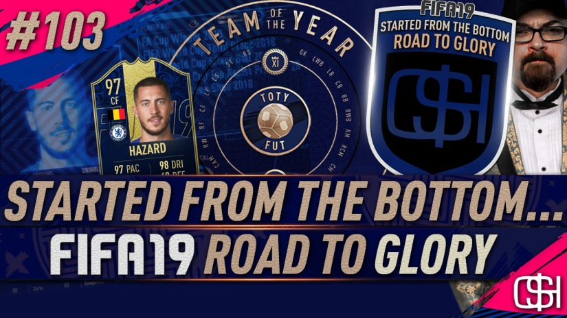 FIFA 19 ROAD TO GLORY FIFA 19 ULTIMATE TEAM QUICKSTOPHICKS FIFA 19 RTG EPISODE 103 FIFA REDDIT MY TOTY VOTE FIFA 19 TEAM OF THE YEAR