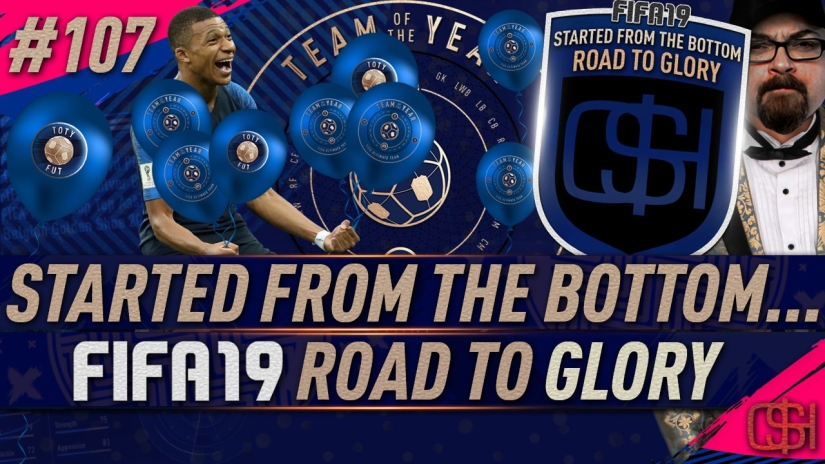 fifa 19 road to glory fifa 19 ultimate team quickstophicks fifa 19 rtg episode 107 fifa reddit toty market crash fifa 19 toty is here team of the year