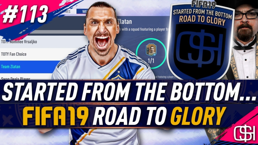 fifa 19 road to glory fifa 19 ultimate team quickstophicks fifa 19 rtg episode 113 fifa reddit toty market crash fifa 19 team zlatan weekly objective