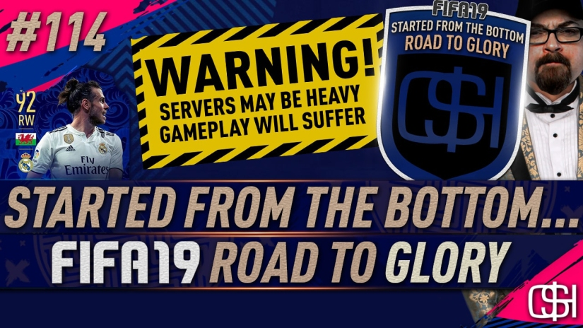 fifa 19 road to glory fifa 19 ultimate team quickstophicks fifa 19 rtg episode 114 fifa reddit bale toty sbc