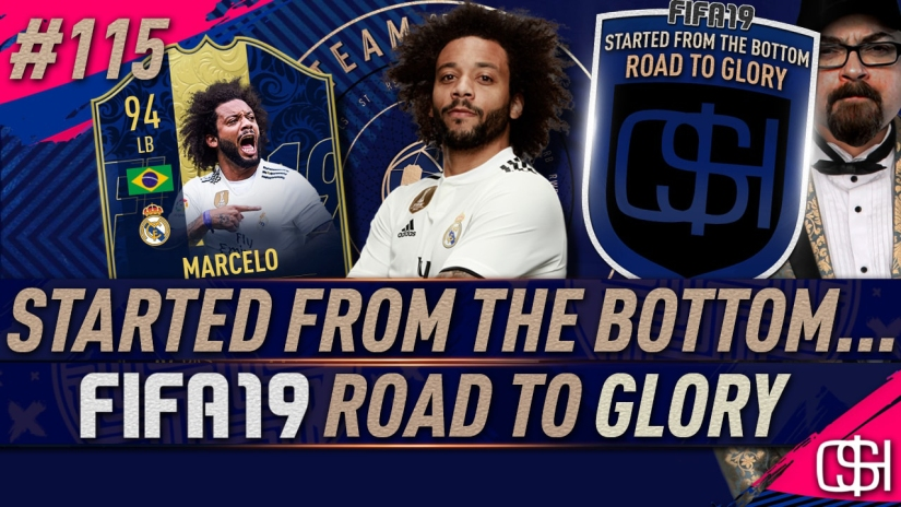 fifa 19 road to glory fifa 19 ultimate team quickstophicks fifa 19 rtg episode 115 fifa reddit toty marcelo packed