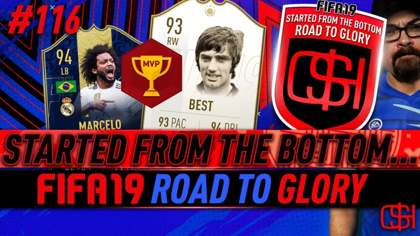 fifa 19 road to glory fifa 19 ultimate team quickstophicks fifa 19 rtg episode 116 fifa reddit george best prime icon review