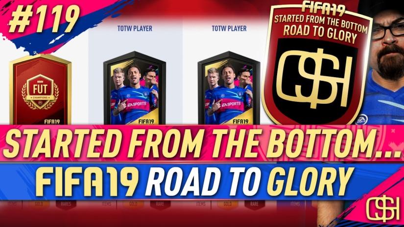 fifa 19 road to glory fifa 19 ultimate team quickstophicks fifa 19 rtg episode 119 fifa reddit totw packs fut champions rewards
