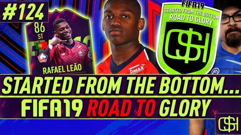 fifa 19 road to glory fifa 19 ultimate team quickstophicks fifa 19 rtg episode 124 fifa reddit fut future stars leao review