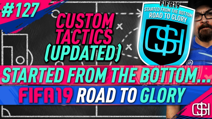 fifa 19 road to glory fifa 19 ultimate team quickstophicks fifa 19 rtg episode 127 fifa reddit fifa 19 custom tactics
