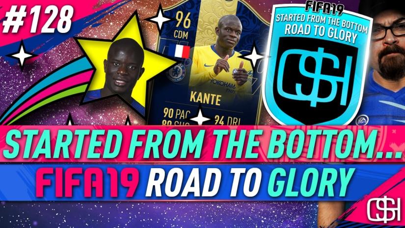 fifa 19 road to glory fifa 19 ultimate team quickstophicks fifa 19 rtg episode 128 fifa reddit fifa 19 toty kante