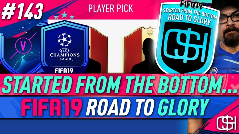 FIFA 19 ROAD TO GLORY FIFA 19 ULTIMATE TEAM QUICKSTOPHICKS FIFA 19 RTG EPISODE 143 FIFA REDDIT FIFA 19 FUT CHAMPIONS ELITE CHAMPIONS LEAGUE